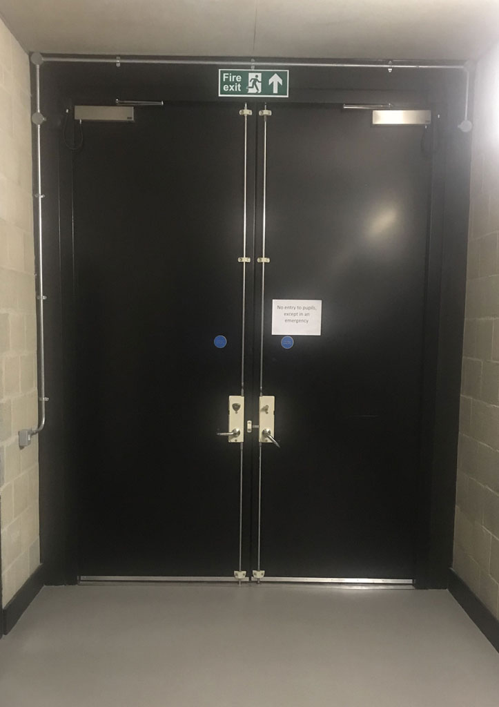Acoustic Composite Hinged Door - 45dB