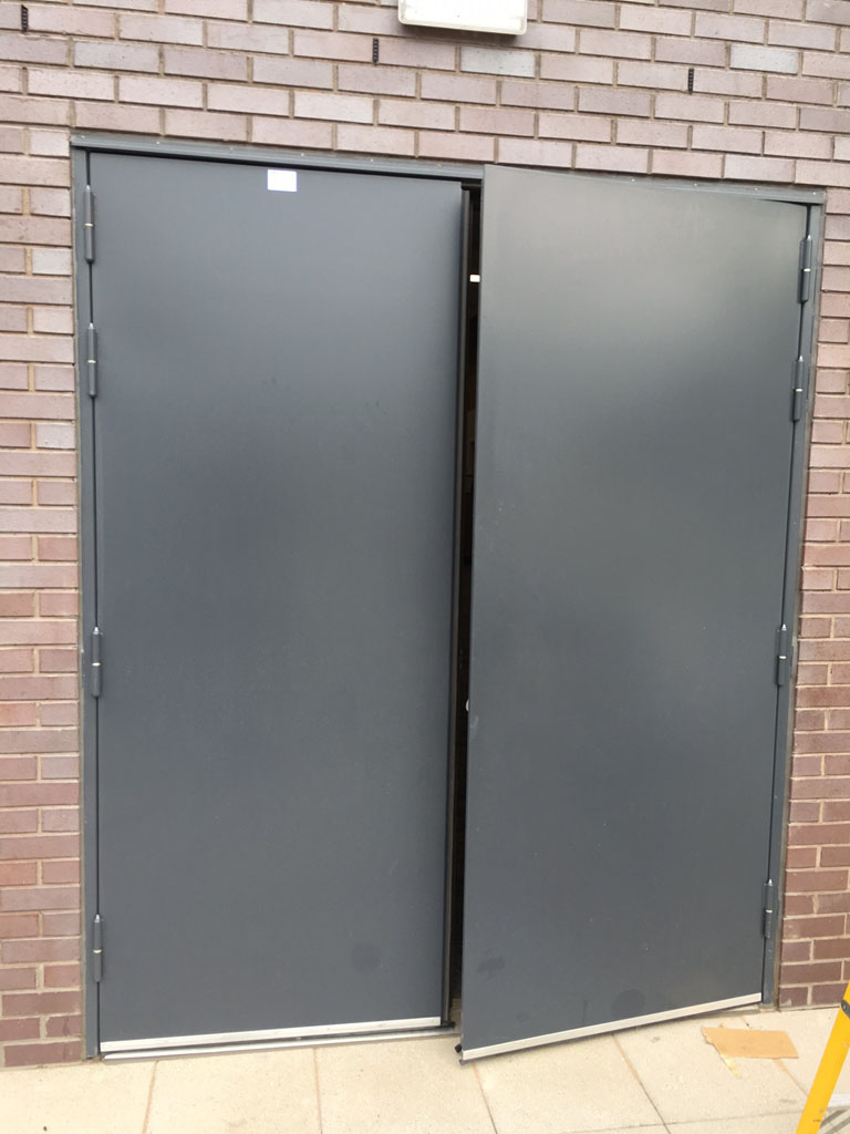 Acoustic Steel Hinged Door - 45dB
