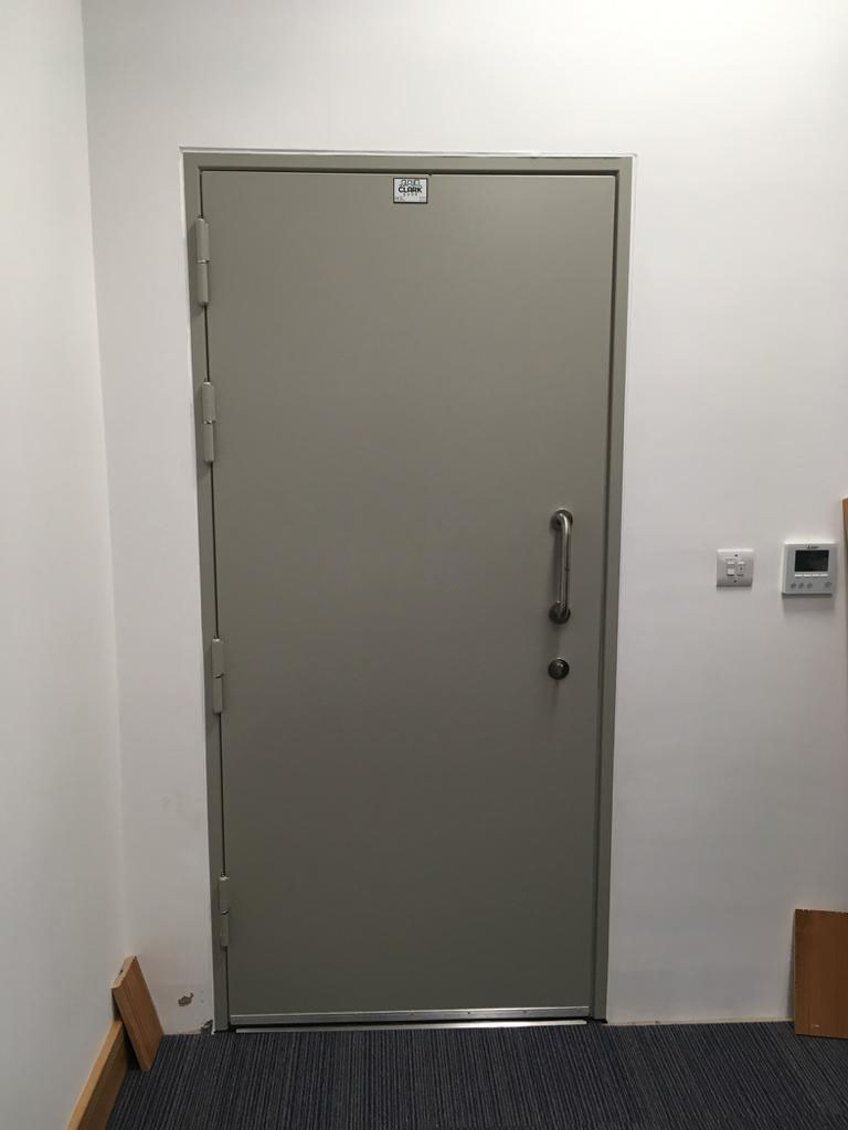 Acoustic Steel Hinged Door, 45dB