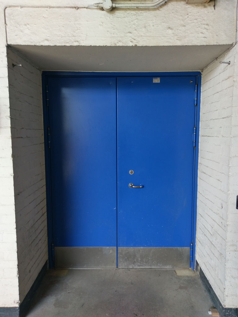 Acoustic Steel Hinged Door - dB