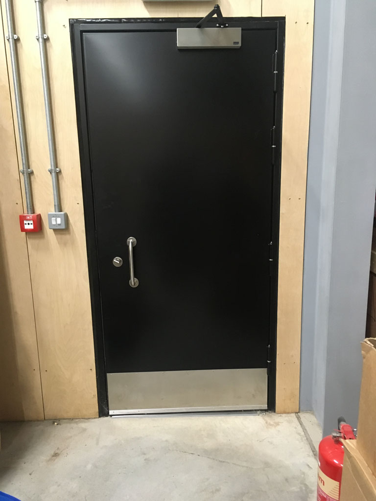 Acoustic and Fire Rated Steel Hinged Door - 45dB 30mins