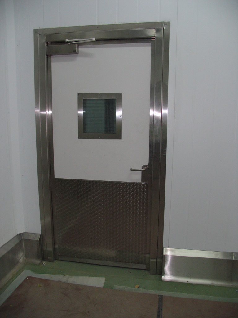Cold Store Hinged Door Vision Panel