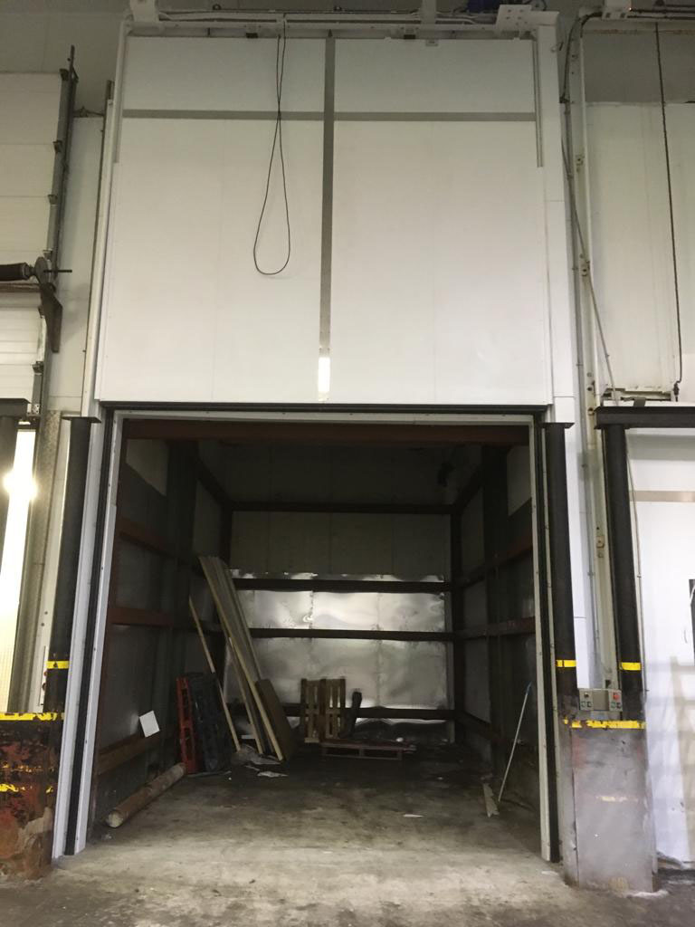 Cold Store Vertical Sliding Door