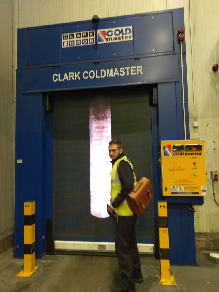 Coldmaster - fitting to loading bay