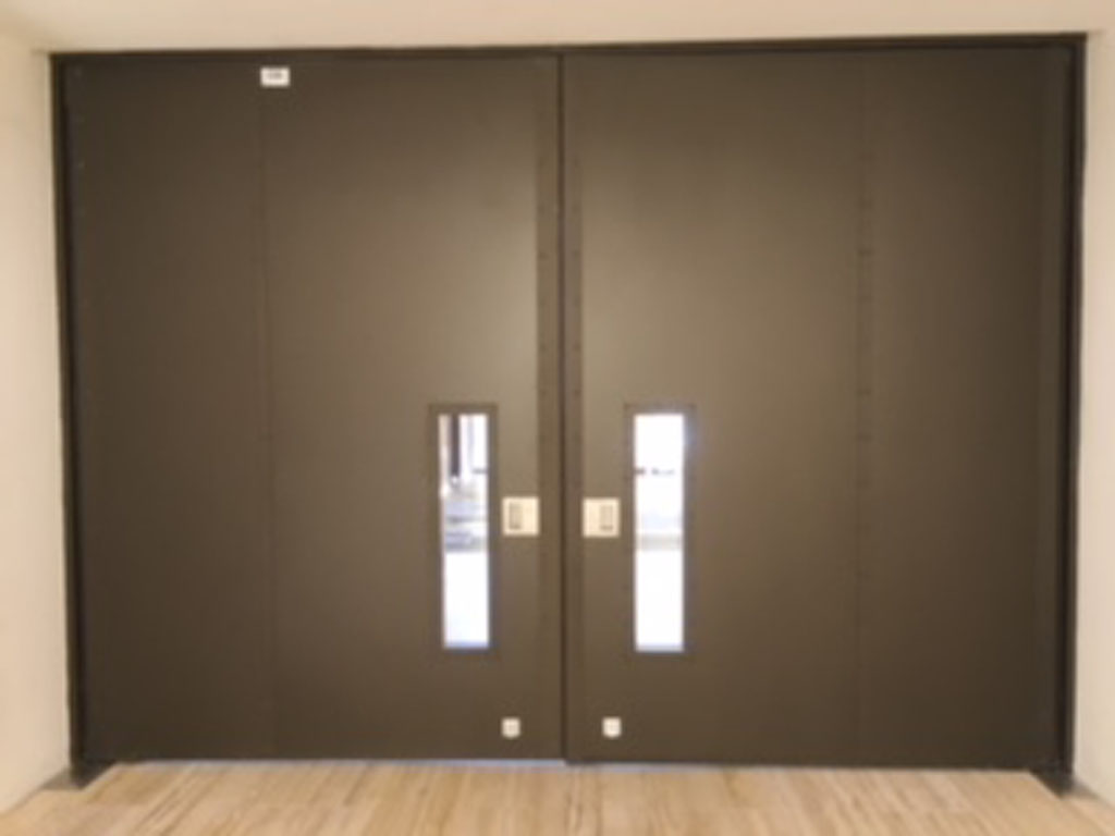 Fire Rated Pivot Door Vision Panels - 60mins
