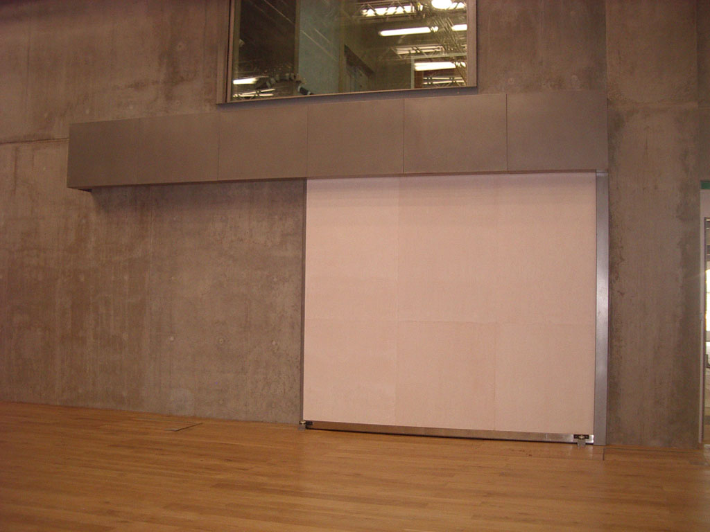 Fire Rated and Acoustic Horizontal Sliding Door - 60mins 54dB