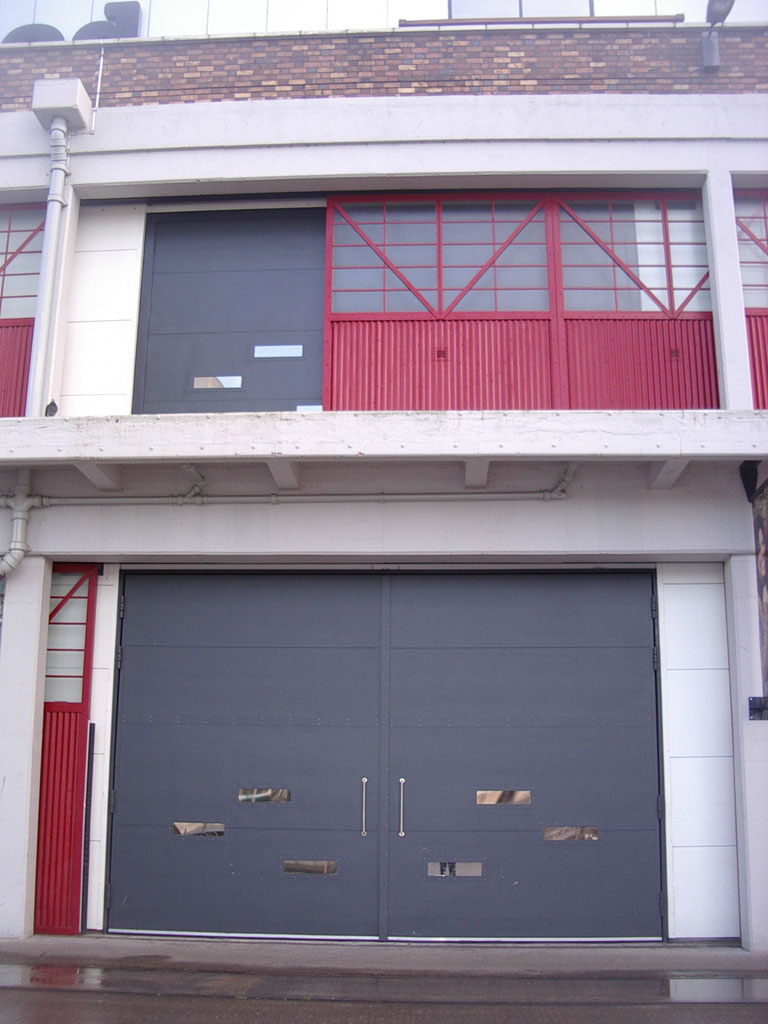 Industrial Horizontal Sliding and Oversized Hinged Doors